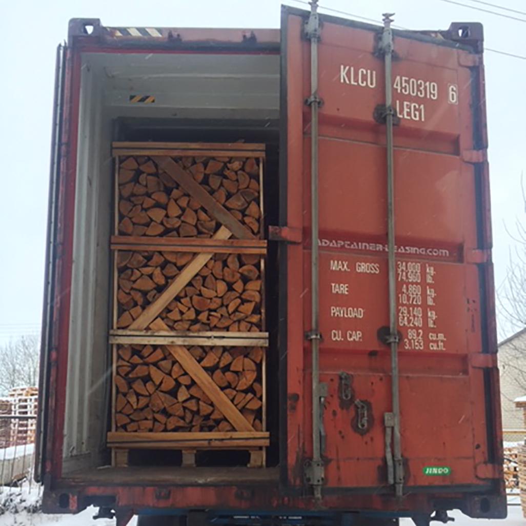 Kiln dried Hardwood (Alder)